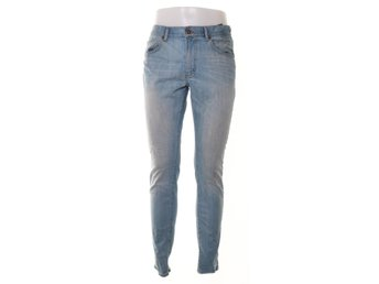 East West, Jeans, Slim, Strl: 34/34, Blå