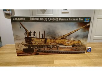 280mm K5(E) Leopold German Railroad Gun, 1:35 NY