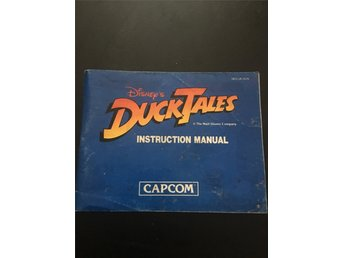 NES manual DuckTales