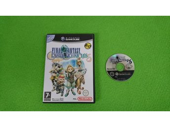 Final Fantasy Crystal Chronicles Gamecube Nintendo Game Cube