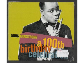 Louis Armstrong A 100th birthday celebration 2 CD Inplastad