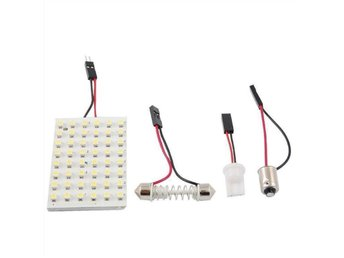 Led dome light med 48 SMD 3528