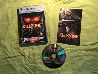 KILLZONE  PS2 PLAYSTATION 2