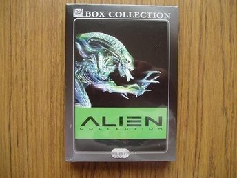 Alien collection Box 4-DVD 4 filmer.