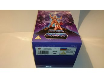 HE-MAN AND THE MASTERS OF THE UNIVERSE SEASON 1 BOX ÅR 1980 FINT SKICK BEGAGNAD
