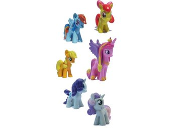 Figurer Djur Hästar - 6-pack - MLP - 6st My Little Pony nr 1