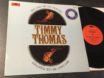 TIMMY THOMAS why can't we live together LP -72 Ger POLYDOR 2310 249