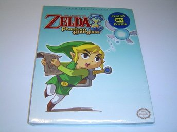 The Legend of Zelda Phantom Hourglass Guide till Nintendo DS Spel *NYTT*