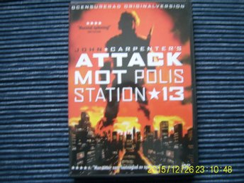 DVD - Attack mot polisstation 13