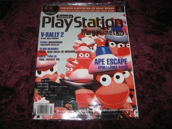 PLAYSTATION MAG Nr7 NY MED CD 7/1999 APE ESCAPE RETRO