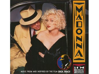 LP Madonna - I´m breathless ( Dick Tracy ) år 1990