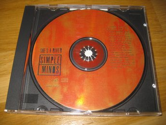SIMPLE MINDS - She's a river CD-maxi 1995 / Promo
