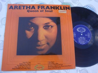 ARETHA FRANKLIN - QUEEN OF SOUL LP 1966 UK