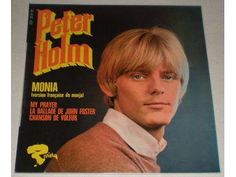 Peter Holm OMSLAG EP Monia (French Version) 1968