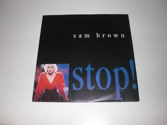 Sam Brown - Stop  - 7""