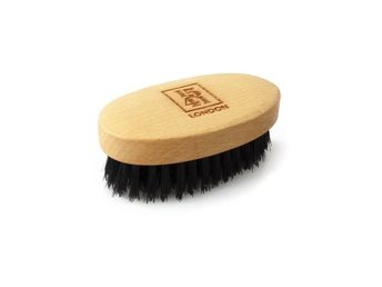 1541 Mini Beard & Moustache Brush Beechwood