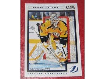 Anders Lindbäck 2012-13 NHL Tampa Bay Lightning Brynäs IF - Kaliningrad - Anders Lindbäck 2012-13 NHL Tampa Bay Lightning Brynäs IF - Kaliningrad