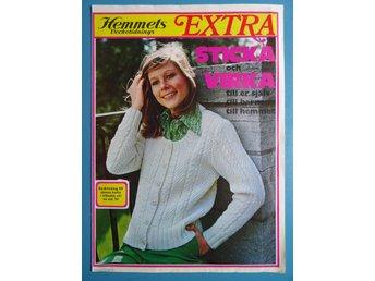 Stick- och virkbilaga 1973 - kläder, gardin, spets, dukar - Blåsmark - Stick- och virkbilaga 1973 - kläder, gardin, spets, dukar - Blåsmark