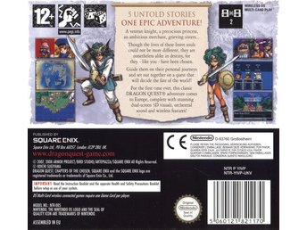 Dragon Quest IV: The Chapters of the Chosen (Kassett) (Beg)