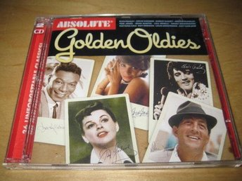 ABSOLUTE GOLDEN OLDIES. DUBBEL-CD!   PERRY COMO,PATSY CLINE ,M.FL.