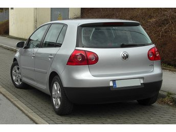 Kjolspoiler bak - VW GOLF 5 - 2004-2008