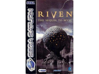 Riven: The Sequel to Myst - Saknar ytterbox - Saturn