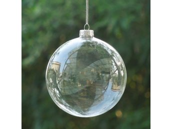 10Pcs Clear DIY Baubles Shatterproof Plastic XMAS Ball Home Tree Decor