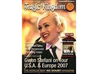 No Doubt - Tragic Kingdom Magazine #10/ Gwen Stefani Fanzine