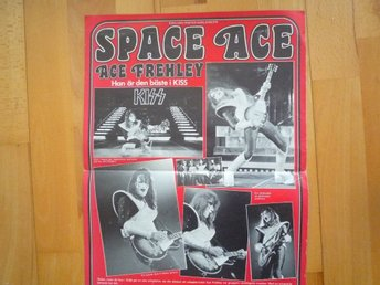 Kiss-Space Ace Poster 1970 tal