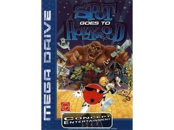 SPOT GOES TO HOLLYWOOD, COOL SPOT 2 (kassett) till Sega Mega Drive