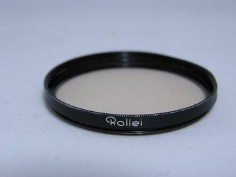 Original Rollei 49mm E49  R1,5 filter . Genuine Rollei filter.