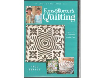 Fons & Porter's Love of Quilting 1400 series DVD