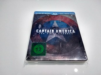MARVEL Blu-ray Steelbook: Captain America - The First Avenger 3D (Amazon.de)