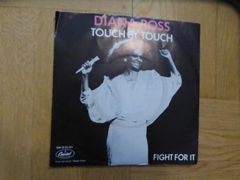 DIANA ROSS - Touch by touch  singel