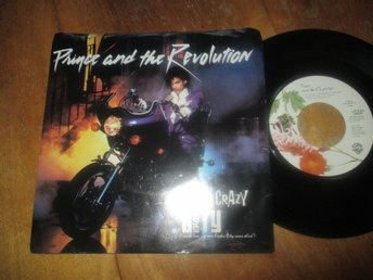 "Prince and The Revolution ""Lets Go Crazy / Erotic City"""