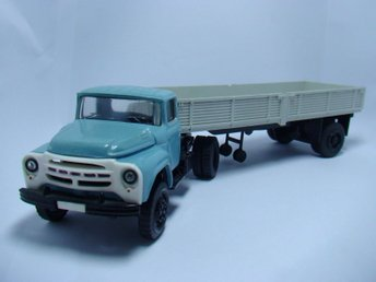 ZIL-130B1 SOVIET USSR SCALE MODEL 1:43 1/43 MODELCAR METAL COLLECTION WITH BOX