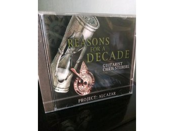 PROJECT: ALCAZAR - Reasons For A Decade Chris Steberl *Progressive metal *Ny*