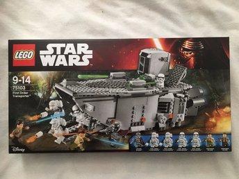 Lego 75103 Star Wars First Order Transporter oöppnad