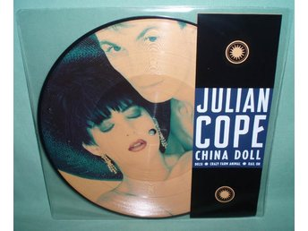 "COPE, JULIAN - China doll , RARE 10""EP  PICTURE DISC ,"