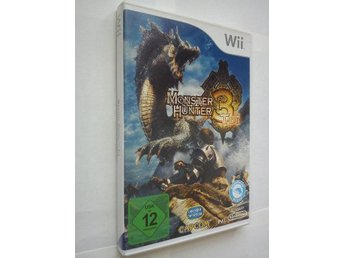 Wii: Monster hunter 3 Tri