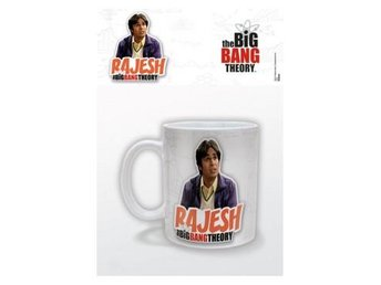 Big Bang Theory Mugg Rajesh
