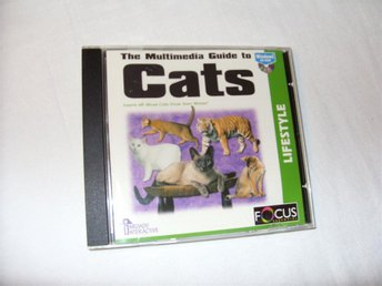 The Multimedia Guide to Cats program om katter PC CD ROM