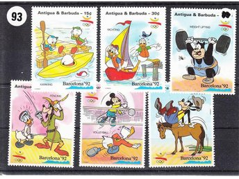 Disney, Antigua & barbuda 1992. Mnr: 1598-04 **