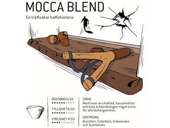 Mocca Blend - kaffe, 500 g - Bålsta - Mocca Blend - kaffe, 500 g - Bålsta