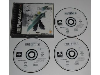 PlayStation/PS1: Final Fantasy VII 7 (AMERIKANSKT)