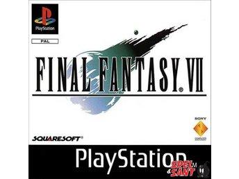 Final Fantasy VII (7) (Tysk Version/Engelsk text) - Norrtälje - Final Fantasy VII (7) (Tysk Version/Engelsk text) - Norrtälje