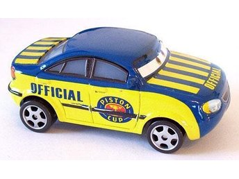 Disney Pixar Cars / Bilar / Mcqueen - Race Official Tom 2007 metall NY!! - Uddevalla - Disney Pixar Cars / Bilar / Mcqueen - Race Official Tom 2007 metall NY!! - Uddevalla