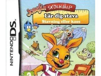 Josefin Skolhjälp Lär dig Stava Nintendo DS NY! INPLASTAD! - Kiruna - Josefin Skolhjälp Lär dig Stava Nintendo DS NY! INPLASTAD! - Kiruna