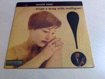 Annie Ross : SINGS A SONG WITH ( GERRY ) MULLIGAN ( 7'' ep )