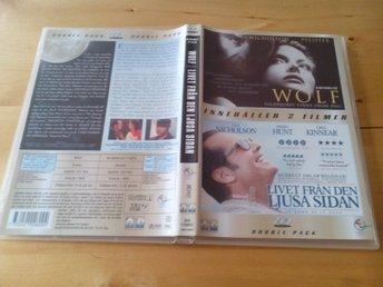 Jack Nicholson Double Pack: Wolf och Livet från den ljusa sidan - Svensk, Egmont - Trelleborg - Jack Nicholson Double Pack: Wolf och Livet från den ljusa sidan - Svensk, Egmont - Trelleborg